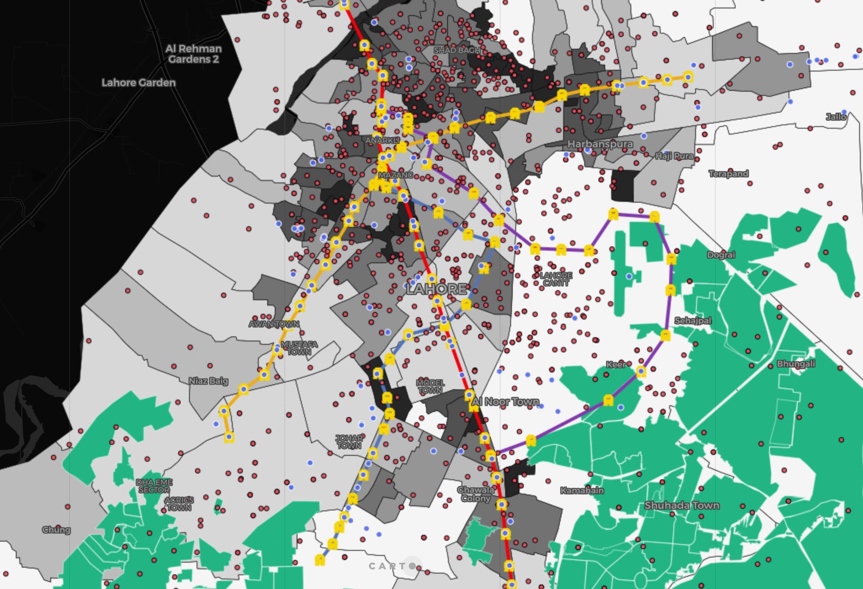Lahore World Map.Development Or Disparity The Case Of Lahore Pakistan